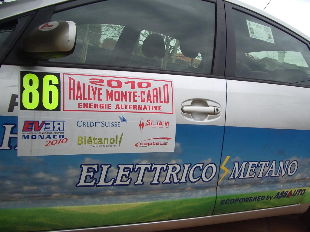 Rally Montecarlo Energie Alternative 2010